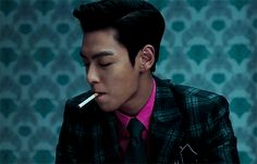 choi seung hyun / political correctness around smoking shouldn't stop us from apreciating the glory of TOP holding a cigarette between his lips.