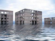 Abandonded residential development in Armenia, photographer Vahram Agasian