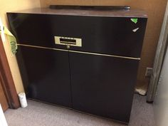 Vintage Antique Dwyer 400 Kitchenette - Freezer Refrigerator Sink Stove - Black