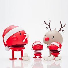 Hoptimist - l'image ambiance Père Noël et Rudolf,