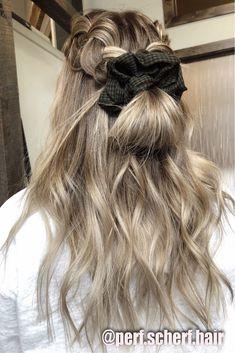 how to do pretty hairstyles Easy Updo Pretty Hairstyles, Box Braids Hairstyles, Good Hair Day, Face Hair, Hair Inspiration, Hair Inspo, Hair Dos, Gorgeous Hair, Hair Hacks