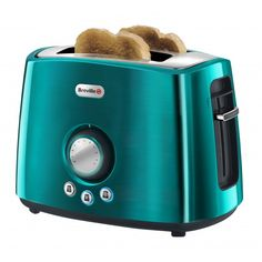 Breville Rio Teal 4 Slice Stainless Steel Toaster Amazon