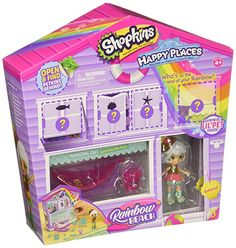 Shopkins Happy Places Rainbow Beach Furniture Set - Hanging Out >>> Details can be found by clicking on the image. (This is an affiliate link) Beach Furniture, Colorful Furniture, Medan, Shopkins Rainbow, Shopkins Gifts, Shopkins Playsets, Shopkins Happy Places, Rainbow Beach, Shopping