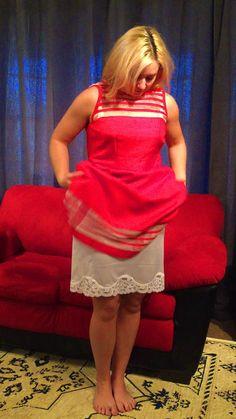 137 best slip under dresses images  petticoats slip on