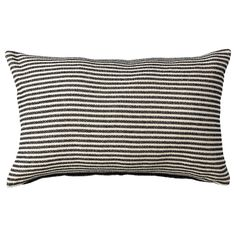 SNÖFRID Cushion cover, black/off-white. There's nothing like soft cotton chenille for cuddle-up comfort and the gentle tones create a feeling of harmony. SNÖFRID cushion cover has different designs on each side so you can vary the look. Sofa Pillow Covers, Cushions On Sofa, Cushion Covers, Throw Pillows, Double Headboard, Ikea Family, Family Room, Ikea Bedroom, Master Bedroom