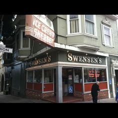 Swensen's, est. 1948. Hyde and Union Streets