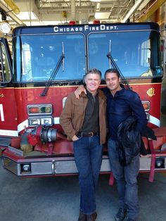 Benny and Kelly. #ChicagoFire