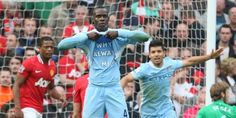 Mario Balotelli. why always me? Manchester United vs. Manchester City.