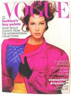 British Vogue July 1987