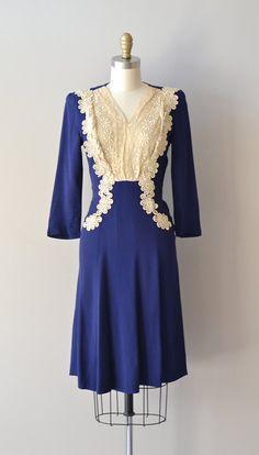 r e s e r v e d...1930s dress / vintage 30s dress / Alden House dress. $74.00, via Etsy.