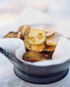 Make Your Own Salt and Vinegar Potato Chips