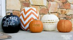 Fun pumpkin decorating ideas!