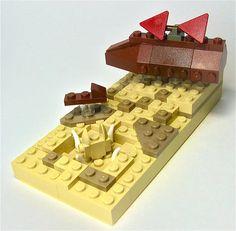 Mini Jabba's Sail Barge by Gabe Umland