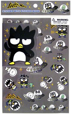 Sanrio Badtz Maru Sticker Book & Stickers Set