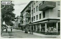 Arvika, Kyrkogatan 1950-tallet