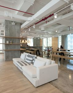 Love the open spaces here at MAKE business hub in Dubai, UAE.