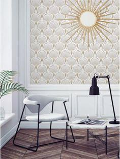 Revivez l'époque des années folles avec « 1925 » de la gamme Art Déco ! Une création PaperMint, nouvelle marque parisienne de décoration murale.