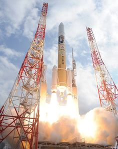 """Congratulations to the team at JAXA on the successful launch of the 'Hayabusa2' rocket! Hayabusa2 took off as planned at 1:22 p.m. on December 3, 2014. It is embarking on a journey to clarify the origin and evolution of the solar system. It will target and analyze a C-type asteroid (""""1993 JU3""""), which it will reach in 2018. Upon completing its mission, Hayabusa2 will return to earth in 2020 – just after the Tokyo Olympics!"""