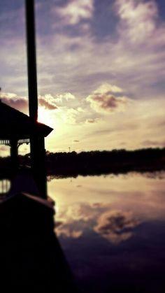 Boardwalk by the lake