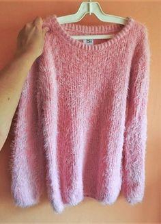 Kupuj mé předměty na #vinted http://www.vinted.cz/damske-obleceni/svetry/18470044-svetle-ruzovy-chlupaty-chundelaty-svetr