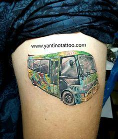 Magic-bus-tattoo-color-reaslistic-ubud-bali-tattoo-kuta