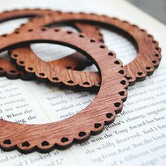 Wooden Bangle Bracelet <> (trees, tree-related items, wood)