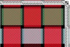 Jackie: Not 2 Square Weavers   false damask: 4-thread broken twill   8-shaft, 8-treadle
