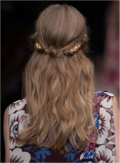 STAR STRUCK - Today's blog topic trend | Follow PrettyPleaseWithChicOnTop.com blog | Hair from Valentino runway