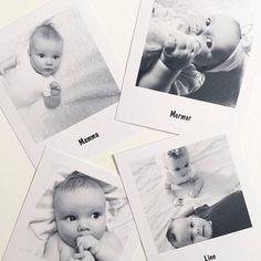 Lag kreative bordkort med polaroidbilder! Takk for at du deler @kariannegodoy! #bilder #bordkort #polaroidbilder #polaroid #minner #foto #fotoknudsen Baby Christening, Little Ones, Children, Kids, Baby Boy, Baby Shower, Birthday, Creative, Cute