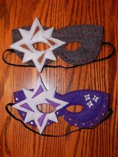 Magic Skylander  Magic Fairy Felt Mask or by OurCozyCreations, $15.00