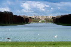 Château de Versailles. La perspective du Grand Canal / The Grand canal perspective © EPV / Didier Saulnier