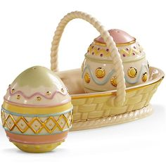 Easter Egg Salt & Pepper Set By Lenox