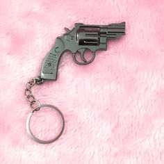 BANG BANG Gun Keychain! ☽ Perfect for keys, handbags, backpacks or just about anything else! ♡ Thanks for visiting Cyberspace Shop!  Lets be