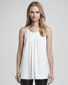 Milly | Pleat-Front Long Tank