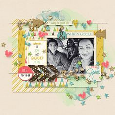 Credit: New Releases - 10/25 :: The Good Stuff by Amber Shaw & Digital Scrapbook Ingredients