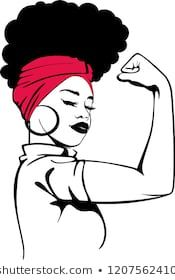 Find Afro Strong Woman stock images in HD and millions of other royalty-free stock photos, illustrations and vectors in the Shutterstock collection. White Girl Afro, Afro Girl, African American Art, African Art, African Prints, African Style, African Fabric, African Women, Black Love Art