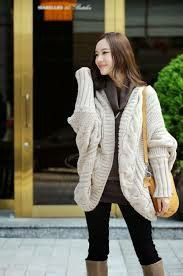 7616b98185 Wholesale Sweaters - Buy 2012 NWT SP157 Korea Batty Sleeves Long Chunk  Shawl Cardigans sweaters