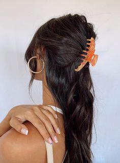 High Summer Hair Clip Orange / Pink - One Size / Orange / Pink