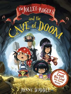 Jonny Duddle cave of Doom Shortlist