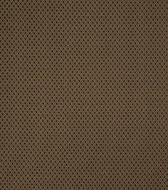 Home Decor Print Fabric-Eaton Square Taber-Chocolate Geometric