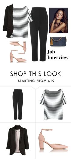 """Job Interview"" by vale14m ❤ liked on Polyvore featuring Topshop and Chico's"