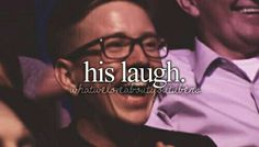 Tyler okleys laugh is the best laugh in the world!