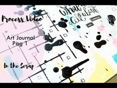 Art Journal - pag 1 para In The Scrap - YouTube