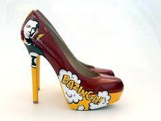 sheldon cooper heels
