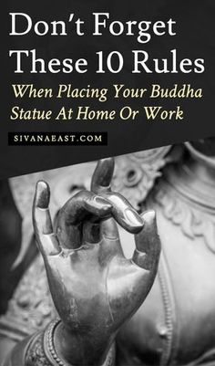 Vastu Vaastu Don't Forget These 10 Rules When Placing Your Buddha Statue At Home Or Work Buddha Statue Meaning, Buddha Statue Home, Buddha Home Decor, Meditating Buddha Statue, Meditation Corner, Meditation Rooms, Easy Meditation, Meditation Garden, Yoga Rooms