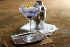 Aviation Cocktail - Made with Gin, Crème de Violette and Maraschino Cherry Liqueur