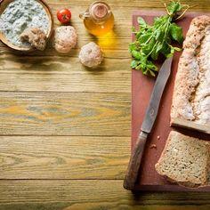 Ψωμί με άνηθο, φέτα και μους βοτάνων / Bread with dill, feta cheese and aromatic herbs. Λαχταριστό ψωμί με φέτα, αρωματισμένο με βότανα! #bread #breadrecipes #homemadebread #breadbaking #breads #cheesebread #aromatic #herbs #fetacheese #feta #fetacheesenutrition #cheese #greekcheese #greekfood #greekbread #greekrecipes #greekfoodrecipes #flour #baking #baked #συνταγές #ψωμί Butcher Block Cutting Board, Bamboo Cutting Board, Feta