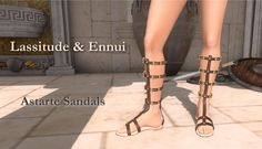 https://flic.kr/p/ziiiP6 | Astarte Sandals by Lassitude & Ennui