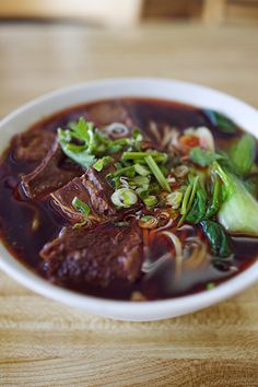 """Eat, Drink + Be Merry. Travel + Food Photography. Los Angeles and Beyond.» Blog Archive » I Heart SGV: Flavor Garden, Alhambra. Sichuan Beef Noodle Soup and """"Three Flavor"""" Potstickers."""