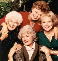 The Golden Girls....possibly my favorite!